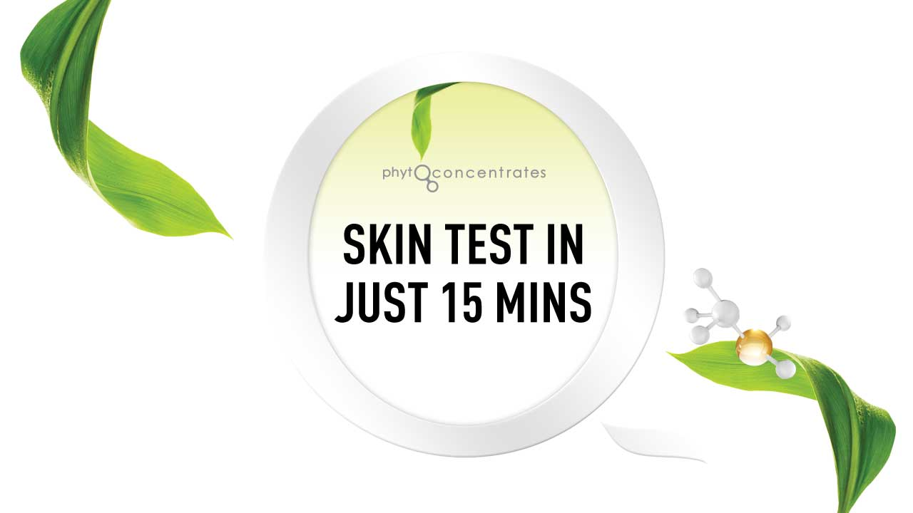Skin test with in 5 mins